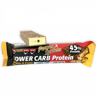 Power System LOWER CARB Protein baton 40g